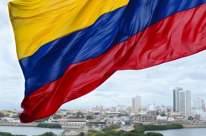דגל קולומביה