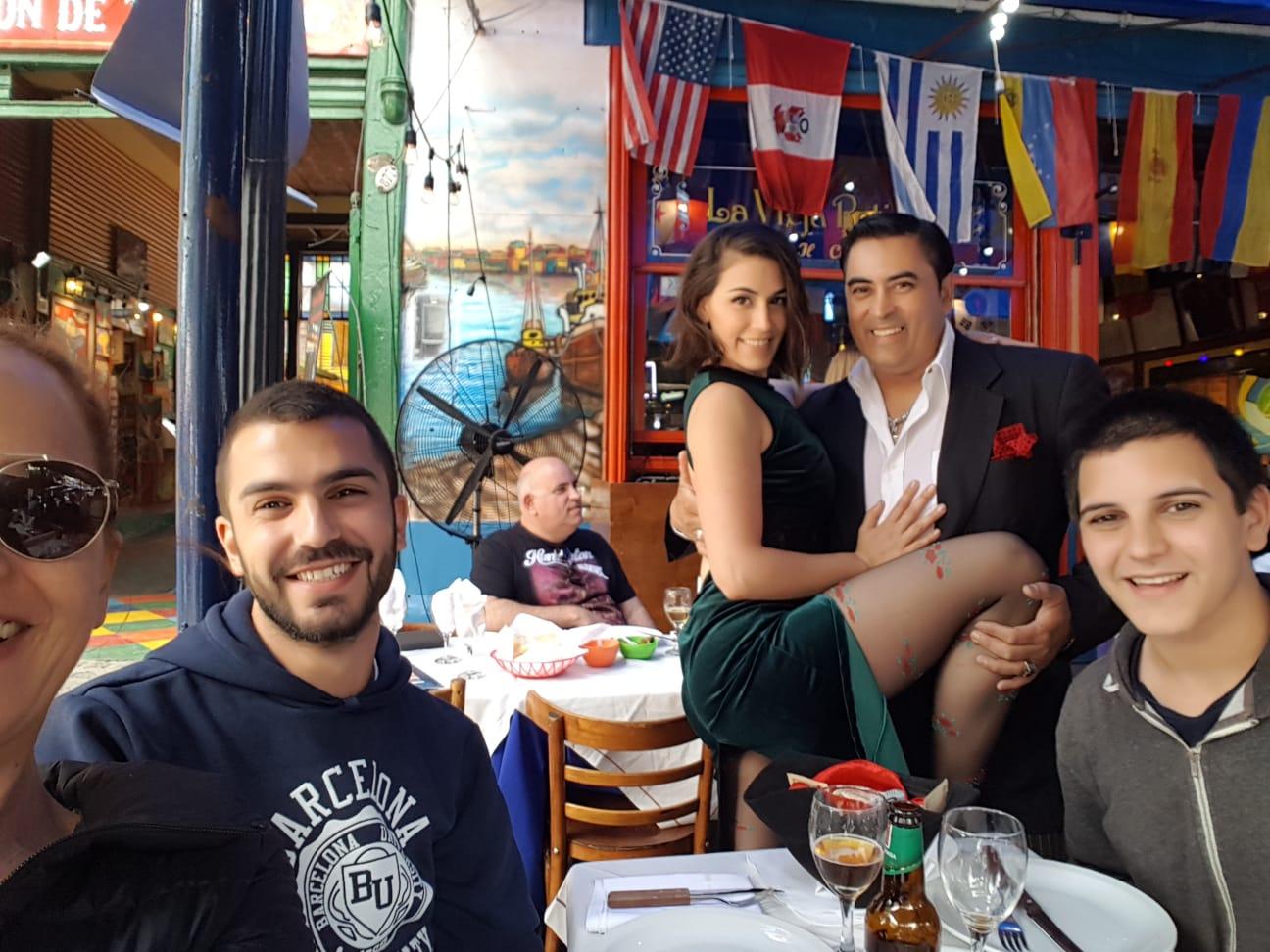 לקוחות ממליצים מונדו טריפ - משפחת פלג צילה ארגנטינה